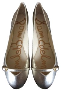 Sam Edelman Alora Metallic Slip-on Edelman Gold Flats