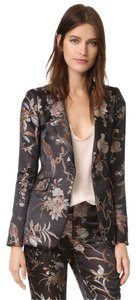 Alice + Olivia Metallic Jacquard New Season Metallic Multi Blazer