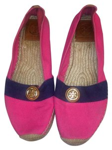 Tory Burch Pink & blue Flats