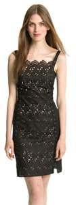 Catherine Malandrino Noir Eyelet Lace Limited Edition Dress