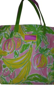 Lilly Pulitzer Tote in Pink, Green, White, Yellow