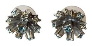 Oscar de la Renta OSCAR DE LA RENTA NWT FIREWORK BLUE CRYSTAL STUD EARRINGS ($190)