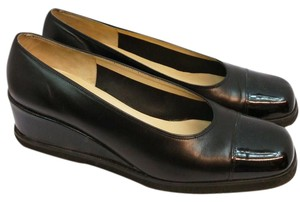 Salvatore Ferragamo Black Pumps