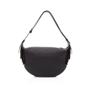 Salvatore Ferragamo Badia Gancio Leather Hobo Bag