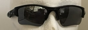 Oakley New Oakley Flak Jacket XLJ 009009 6314 03-915 Black Iridium Sunglasses