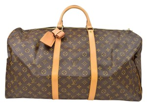 Louis Vuitton Vuitton Keepall Vuitton Keepall 60 Keepall 60 Keepall Travel Bag