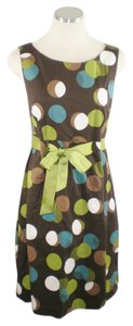 Jessica Howard Polka Dot Ribbon Dress