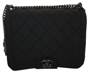Chanel Black Messenger Bag