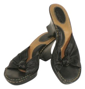 Børn Knot Leather black Sandals