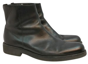 Donald J. Pliner J Black Leather Boots