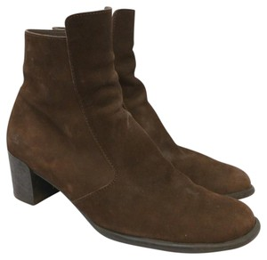 Arche Brown Suede Boots
