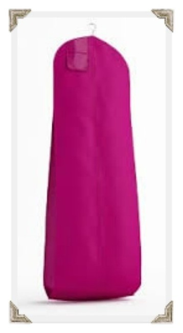 Item - Fuchsia Breathable Zippered Garment Bag with Gusseted Bottom