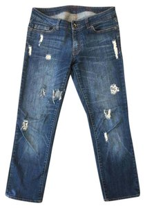 Flying Monkey Boyfriend Cut Jeans-Distressed