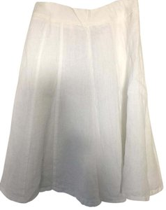 Coldwater Creek Skirt White
