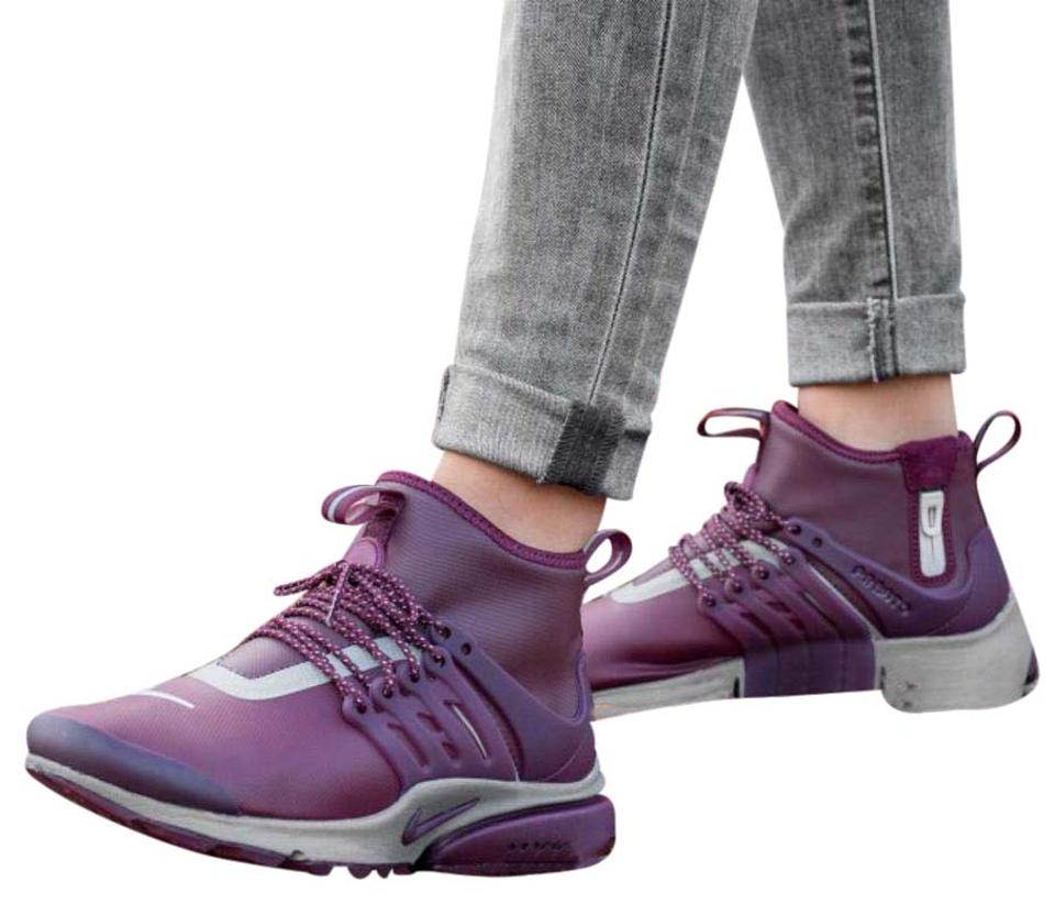 buy popular 89156 f84ab Nike Women's Air Presto Mid Utility Night Maroon Style/Color: 859527-600  Sneakers Size US 9 Narrow (Aa, N) 33% off retail