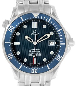 Omega Omega Seamaster 300M James Bond Blue Wave Dial Mens Watch 2531.80.00
