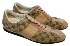 Gucci Canvas Sneakers Flats