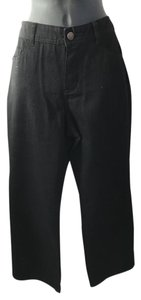 Coldwater Creek Straight Leg Jeans-Coated