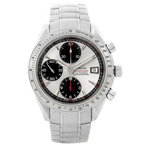 Omega Omega Speedmaster Day Date Chronograph Silver Dial Watch 3211.31.00