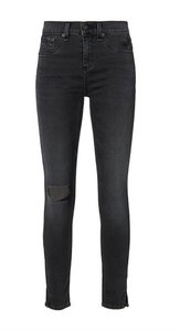 Rag & Bone & Grey Skinny 10 Inch Skinny Jeans-Medium Wash