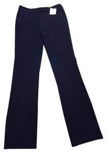 Trina Turk Straight Pants Navy