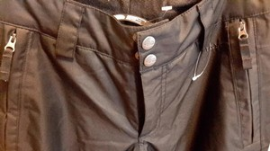 The North Face Snow Outdoor Activewear Athletic Pants black