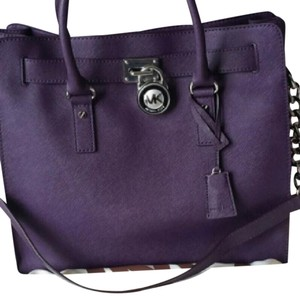 Michael Kors Tote in deep purple