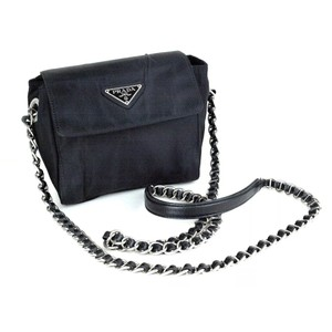 7bac94cda843 Prada Chanel Lv Chain Quilted Woc Cross Body Bag