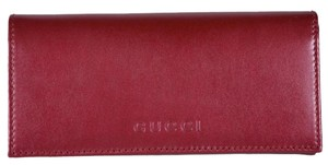 Gucci Gucci Women's 305282 Cranberry Pink Leather W/Coin Pocket Wallet