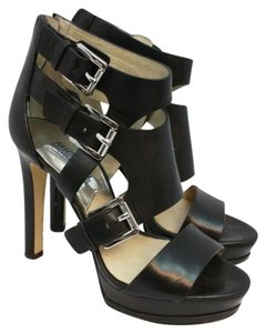 Michael Kors Black Heels Sandals