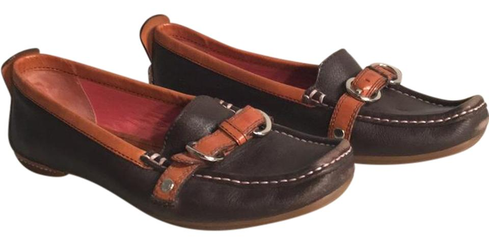 fde1f7c7e10a7 Coach Brown and Tan Loafers Flats Size US 7 Regular (M