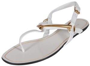Gucci Thong white Sandals