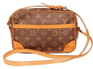 Louis Vuitton Trocadero Monogram Canvas Leather Cross Body Bag