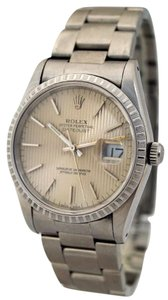 Rolex Vintage Men's Rolex Oyster Perpetual 16220 Automatic Date Wrist Watch