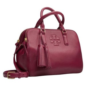 Tory Burch Satchel in Wine/Port