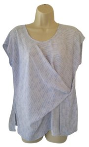 a.n.a. a new approach Top periwinkle, white