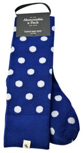Abercrombie & Fitch Polka Dots Slouchy Boot Socks