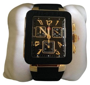 Michele Michele NWT Park Jelly Bean Gold Black watch $400