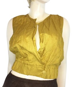 J.Crew Top Canary yellow
