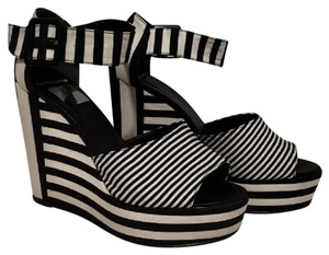 Pierre Hardy Black and White Wedges