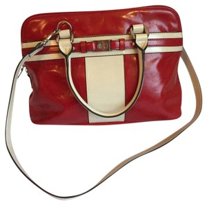 Giani Bernini Satchel in Red