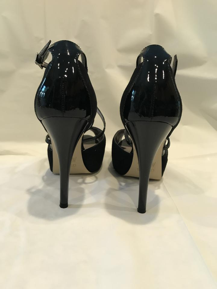 663b4c24cb1 Guess By Marciano Black Suede High Heel Pumps Size US 6.5 Regular (M ...