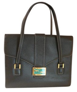 Fendi Chanel Prada Hermes Kelly Christian Dior Tote in Black