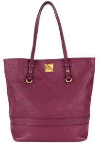 Louis Vuitton Tote in Raspberry