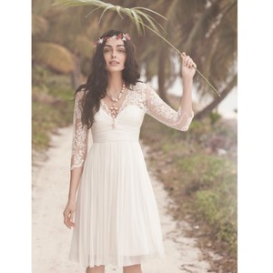 BHLDN Omari Short Lace Wedding Dress Wedding Dress