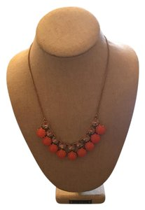 J.Crew J. Crew Coral and crystal necklace