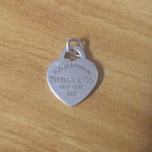 Tiffany & Co. return to Tiffany heart tag pendent
