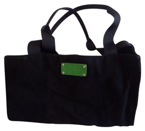 Kate Spade black with green accents Diaper Bag
