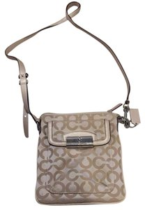 Coach Goldish/Taupe Messenger Bag