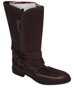 Tod's Ankle Buckle Brown Boots